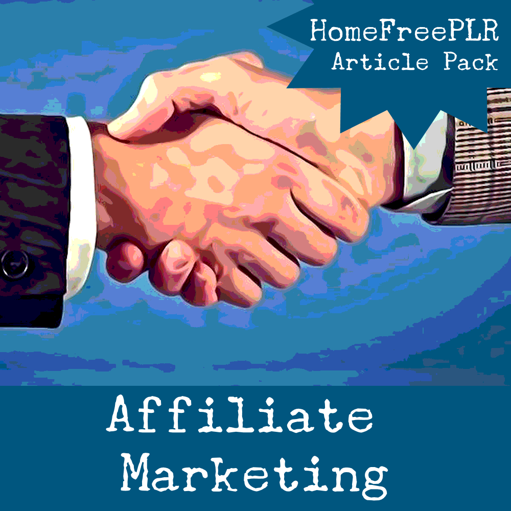 affiliate marketing plr