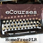 Retirement - PLR eCourse
