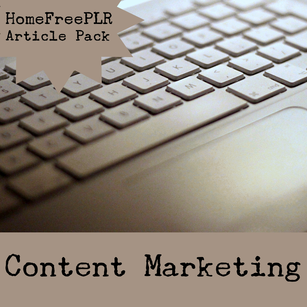 content marketing plr
