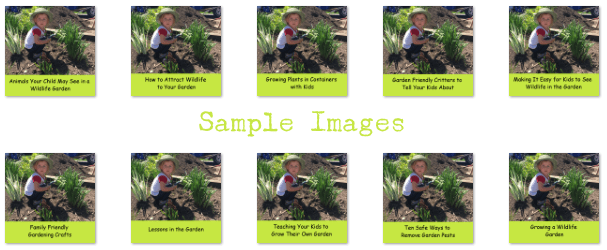 gardening with children plr