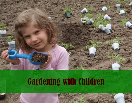 Gardening with Children PLR Articles