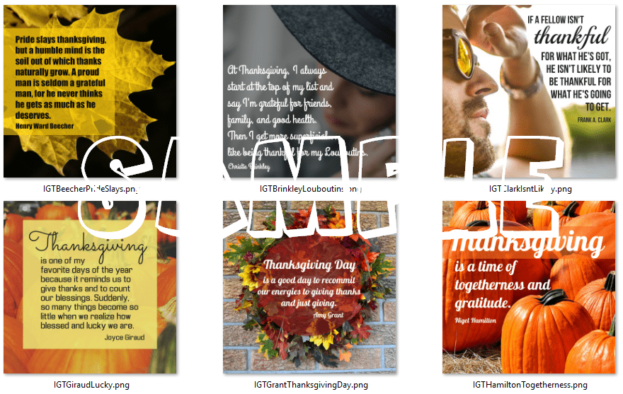 inspirational graphics thanksgiving