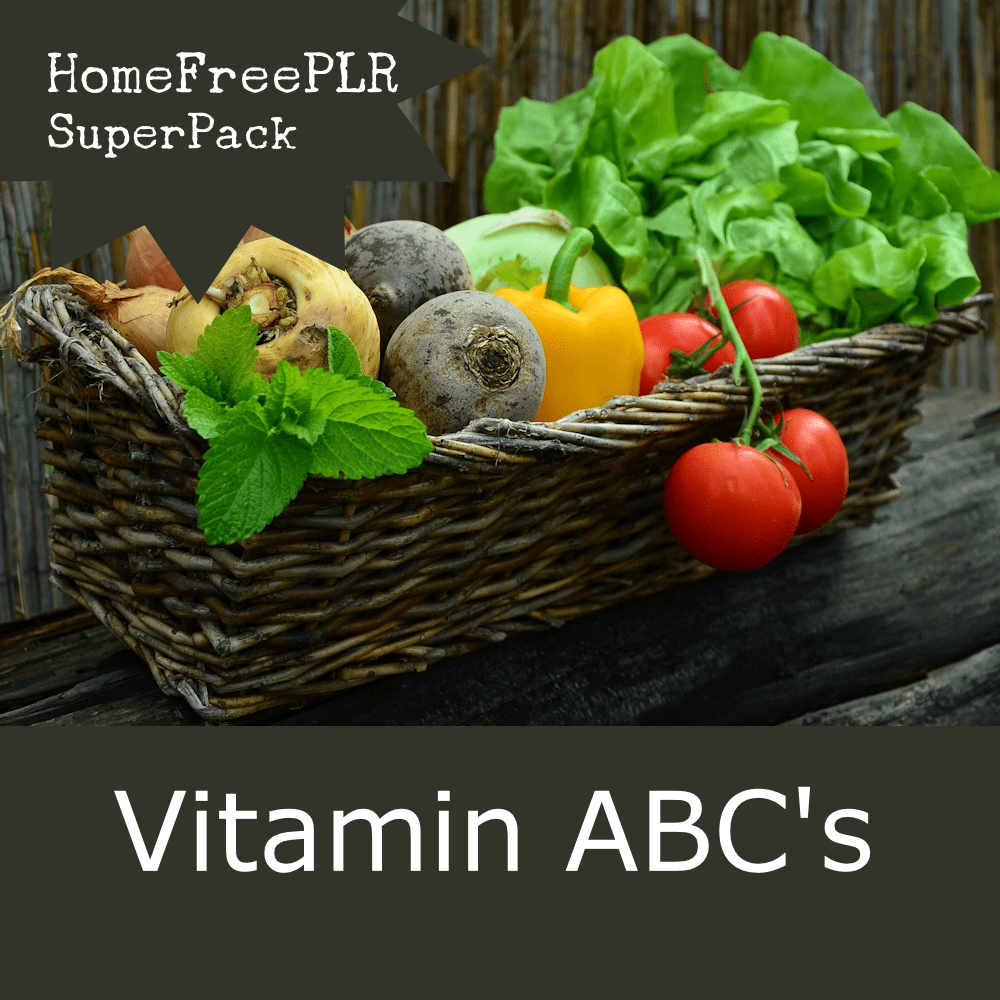 vitamins plr superpack